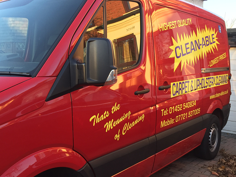 Commercial Carpet Cleaning Van Gloucester